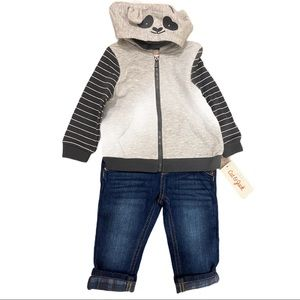 BUNDLE- Size Boys 12 Month Jacket and Skinny Jeans